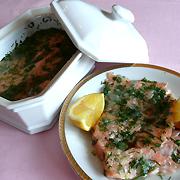 Saumon en marinade