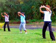 La pratique du tai-chi