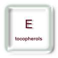 Vitamine E (tocopherols)