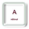 Vitamine A (rétinol)