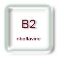 Vitamine B2 (riboflavine)