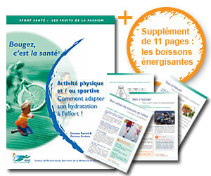 Brochure : hydratation du sportif