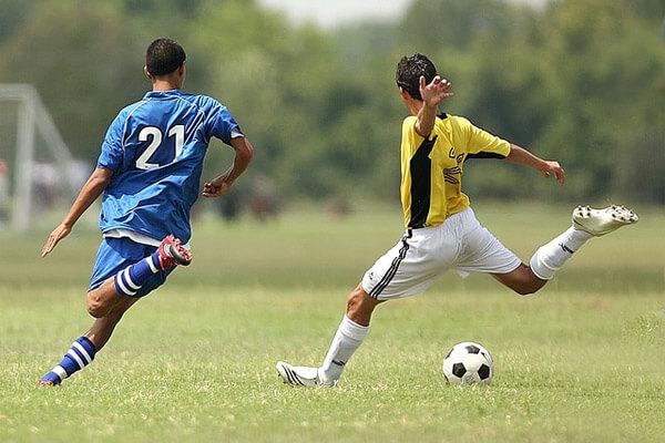 Mise au vert et football