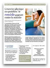 L'exercice physique au quotidien : Le remède gagnant contre la maladie