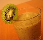 Mousse Légère Banane Kiwi