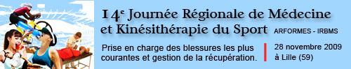 14ème congrès de médecine et de kinésithérapie du sport (2009)
