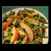 Salade d'automne de poires et roquette