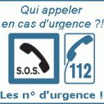 Les numéros d'urgence ! (112)
