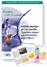 Brochure : Comment adapter son alimentation à l'effort ?