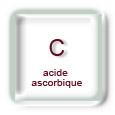 Vitamine C : acide ascorbique