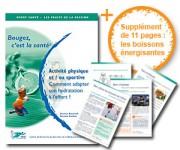 Brochure : L'hydratation du sportif