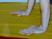 Exercices d'échauffement des poignets