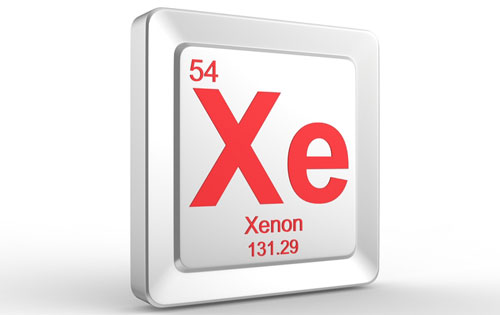 Le gaz Xenon