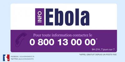 0 800 13 00 00 - Infos Ebola