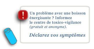 Veille sanitaire : boissons énergisantes