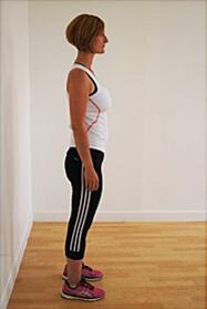 Position debout bonne posture