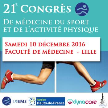 21e Congrès de Médecine du Sport et de l'Activité Physique