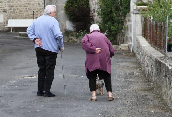 La chute chez les personnes âgées