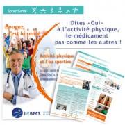 Brochure : le sport santé sur ordonnance