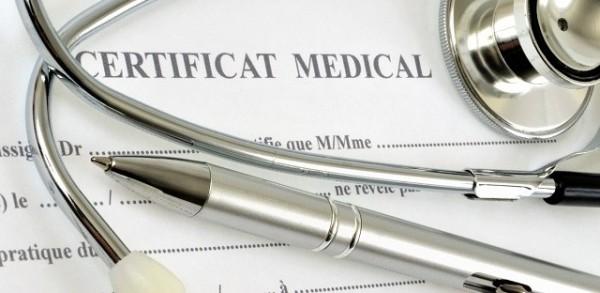 Le certificat médical, remplacé par le CACI
