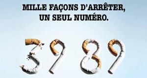 Arrêter de fumer : 39 89