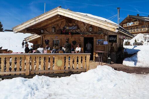 Le menu du skieur