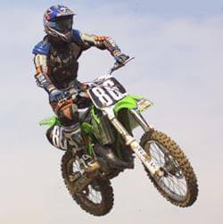 La diététique du motard, moto-cross