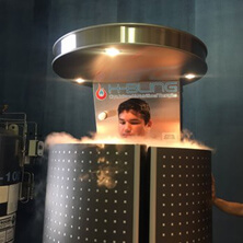 Le cryo-sauna corps partiel