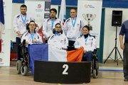 Boccia : l'équipe de France BC3