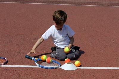 Le tennis pour les enfants