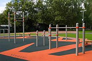 Parcours d'entraînement urbain