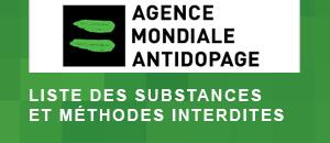Liste des substances et méthodes interdites
