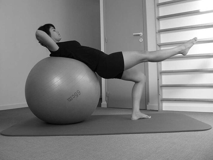 Pilates : rééducation d'une ligamentoplastie du genou