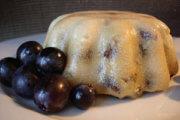 Pudding aux Raisins Secs et à la Vanille