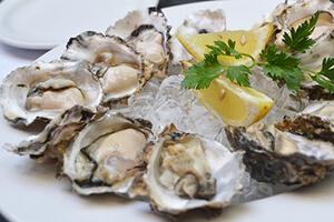 Les huîtres au menu du sportif