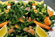 Salade de mâche nordique