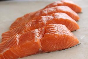 Le saumon au menu du sportif