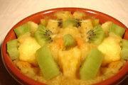 Chaud froid de compote de pomme