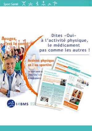 Brochure sport santé sur ordonnance : Dites Oui à l'activité physique