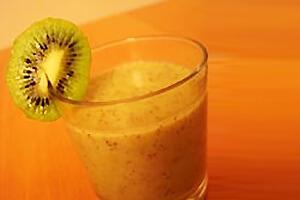 Recette : mousse banane kiwi