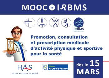 MOOC Sport Santé : à partir du 15 mars 2019