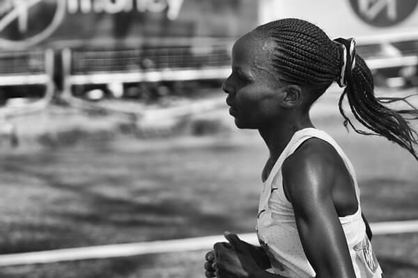 Marathon féminin, les performances sportives