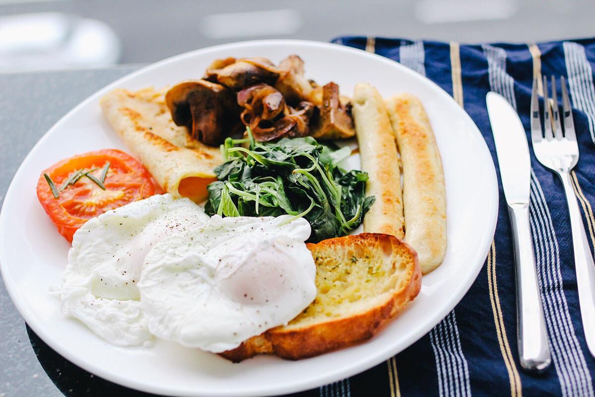 Breakfast avant le sport