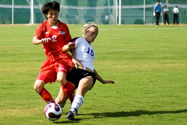 Les blessures fréquentes dans le football féminin