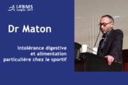 Conférence : Dr Maton - 2019