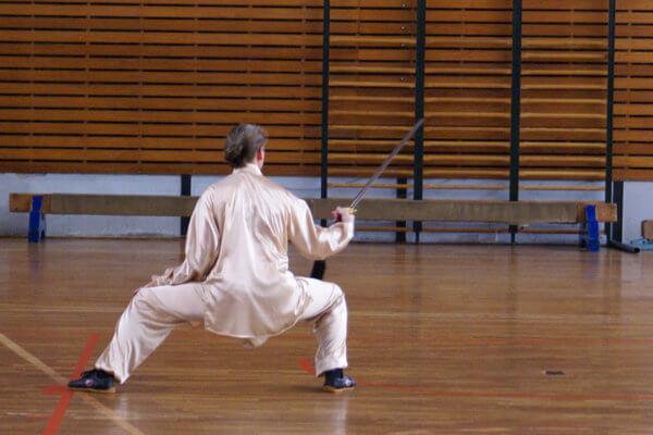 Cours de Taiji Jian - épée (Willy Mangin)