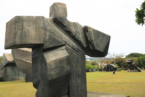 Taiji : sculpture de Zhu Ming