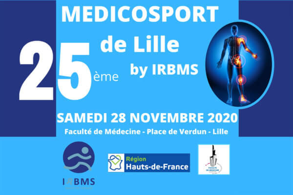 25ème Médicosport de Lille by Irbms - 28 novembre 2020