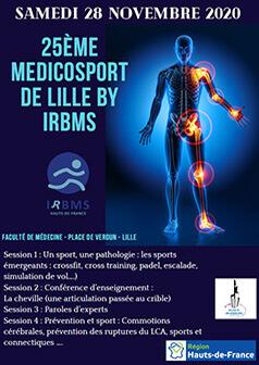 Inscription au 25ème Médicosport de Lille by Irbms 2020