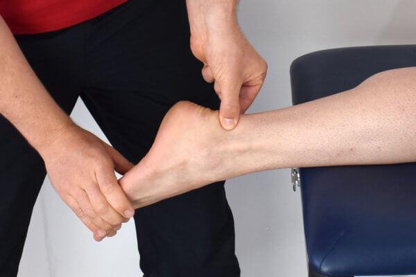 Localiser le tendon d'Achille